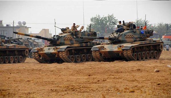 زمینه سازی برای عملیات نظامی علیه ترکیه در سوریه