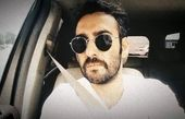 سلفی جدید نیما شعبان نژاد در ماشینش + عکس