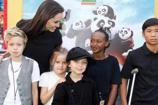 سبک جالب آنجلینا جولی در تربیت فرزندانش + عکس