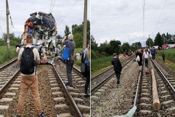 برخورد مرگبار قطار و خودرو در لهستان