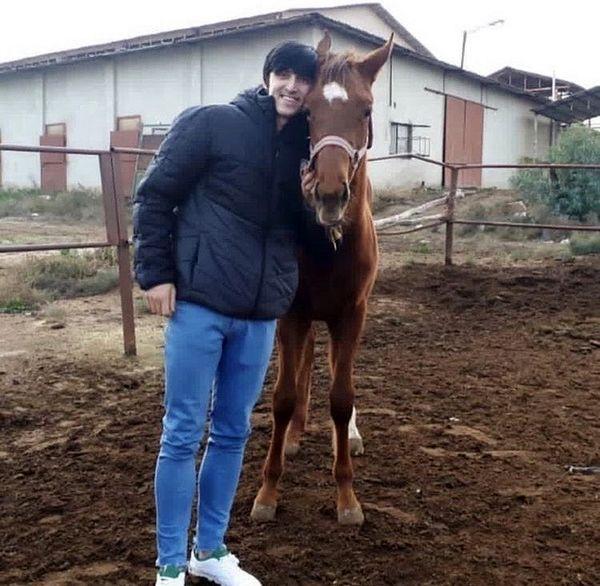 اسب دوستداشتنی سردار آزمون + عکس