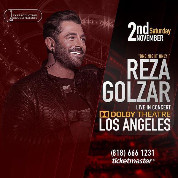 کنسرت محمدرضا گلزار در لوس آنجلس