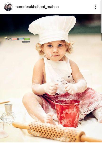 دختر خوردنی سام درخشانی+عکس