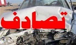 واژگونی پژو 405 در کرمان