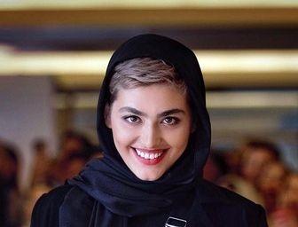 «ریحانه پارسا» و تیپ جدیدش در جشنواره فجر 37 /تصاویر