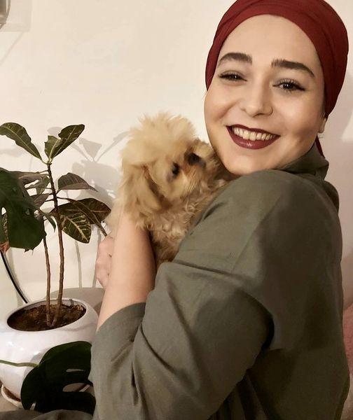 سگ بامزه سانیا سالاری + عکس