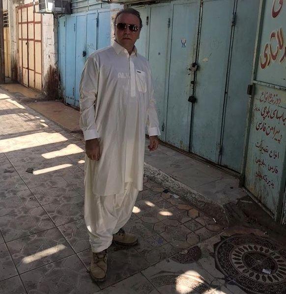 کیهان ملکی در لباس جنوبی ها + عکس