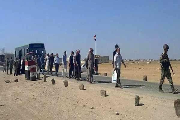 ۳۰ هزار آواره از منطقه کاهش تنش ادلب خارج شده اند