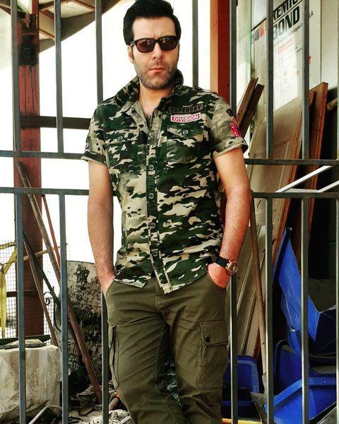 لباسهای ارتشی آقای بازیگر + عکس