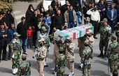 مراسم تشییع پیکر مطهر شهدای حادثه ناوچه کنارک آغاز شد