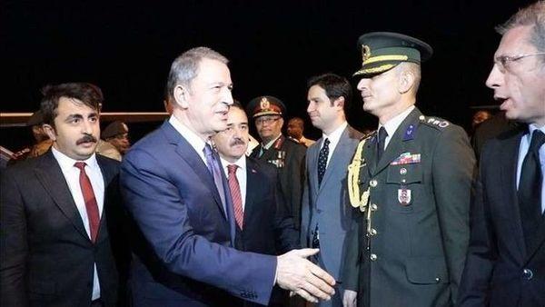 سفر وزیر دفاع ترکیه به لیبی و سودان