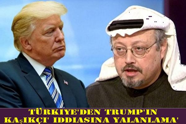 واکنش ترکیه به ادعای ترامپ درباره خاشقچی