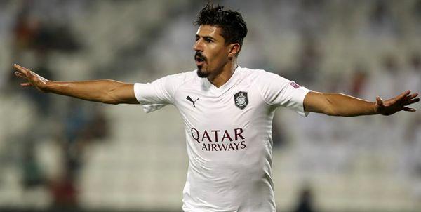 رکوردشکنی تاریخی مهاجم رقیب پرسپولیس در لیگ قطر