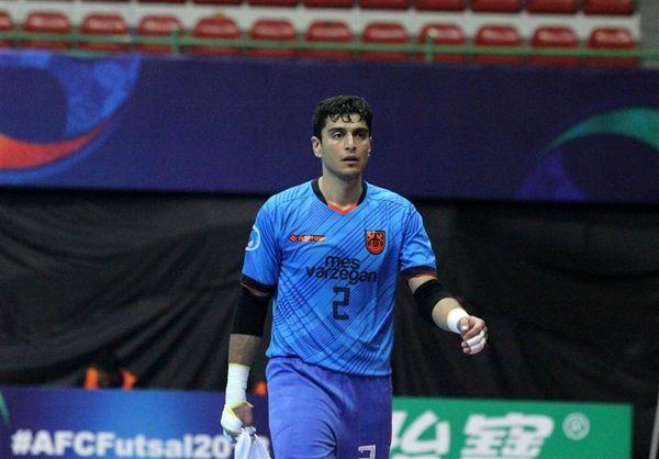 علیرضا صمیمی نامزد کسب عنوان بهترین دروازهبان سال ۲۰۱۸ جهان شد