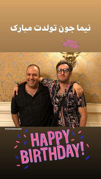 تبریک علی اوجی به پسر مهران مدیری + عکس