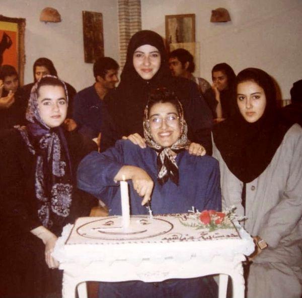 فاطمه هاشمی وقتی خیلی جوان بوده + عکس