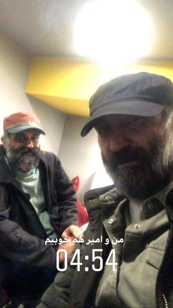 هادی حجازی فر و دوستش + عکس