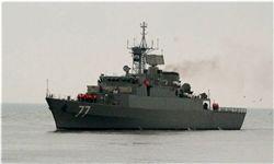 حادثه جزیی برای ناوشکن دماوند در دریای خزر