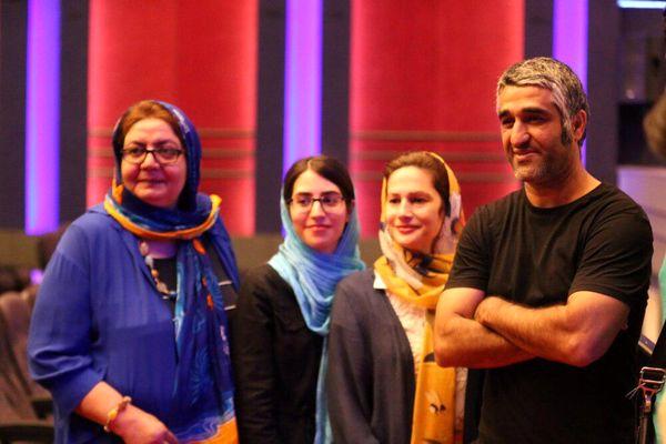 پژمان جمشیدی در پردیس سینما آزادی+عکس