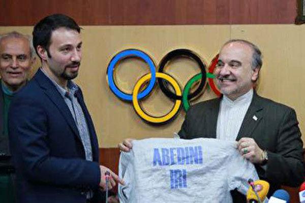 توضیح وزارت ورزش در مورد شوخیِ جنجالی وزیر با لباس یک ورزشکار