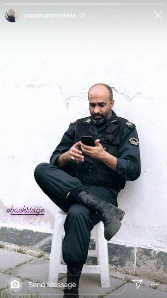 بازیگر مشهوری که پلیس شد + عکس