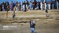 سیل در منطقه «عورکی» سیستان و بلوچستان