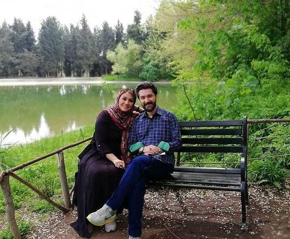 امیرحسین مدرس و همسرش در طبیعتی بی نظیر+عکس