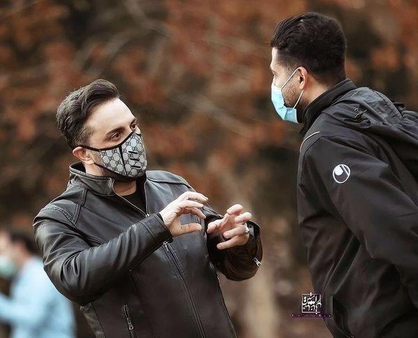 گفت وگوی جدی آقای مجری با دوستش + عکس