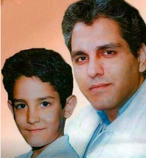 مهران مدیری در کنار پسر کوچکش + عکس