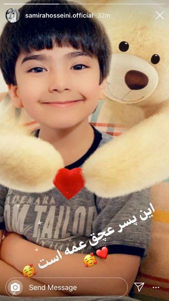 عشق زندگی سمیرا حسینی + عکس