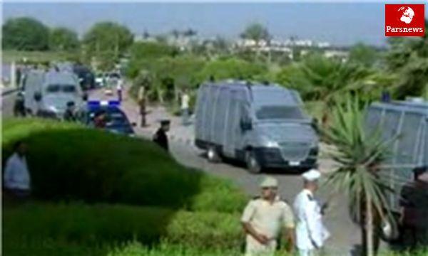 تدابیر امنیتی شدید در اطراف دادگاه مبارک