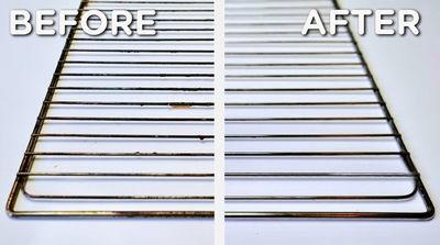 نحوه تمیز کردن توری فر بدون مواد شیمیایی