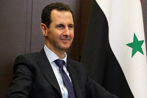 رایزنی بشار اسد با هیات روسی