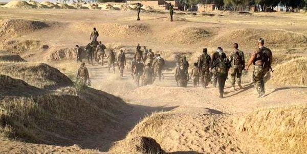 الحشدالشعبی داعشیها را غافلگیر کرد