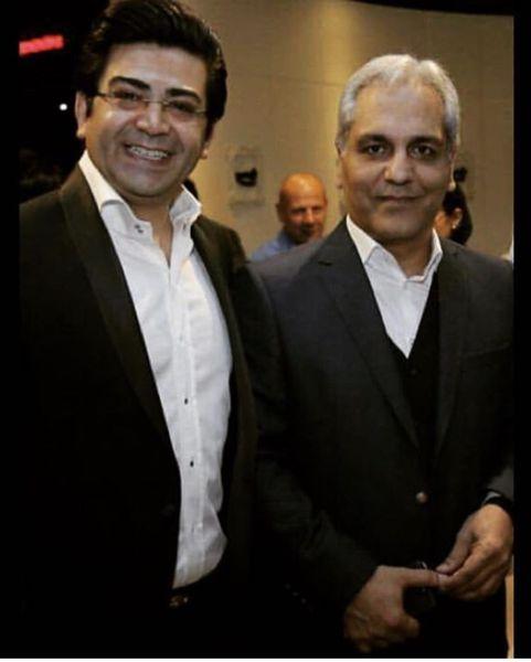 حضور فرزاد حسنی و مهران مدیری در یک مراسم + عکس
