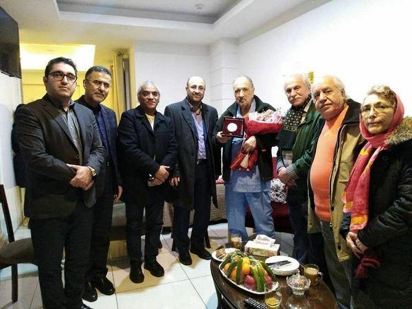 عیادت بازیگران ایرانی از بازیگر فرانسوی+عکس