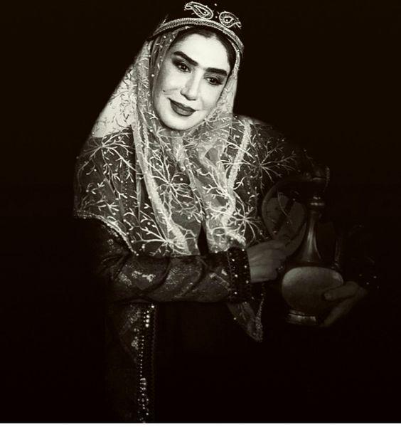 استایل زمان قاجاری نسیم ادبی + عکس