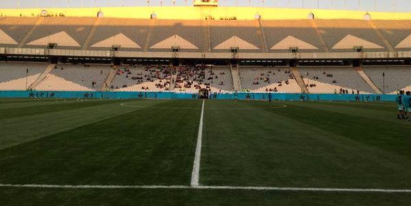 مدیرکل برگزاری مسابقات AFC در ورزشگاه آزادی حاضر شد