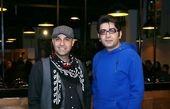 تیپ ورزشی فرزاد حسنی  در کنار نیما رئیسی + عکس