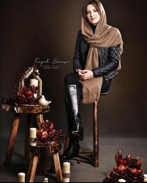 عکس یلدایی سمیرا حسینی