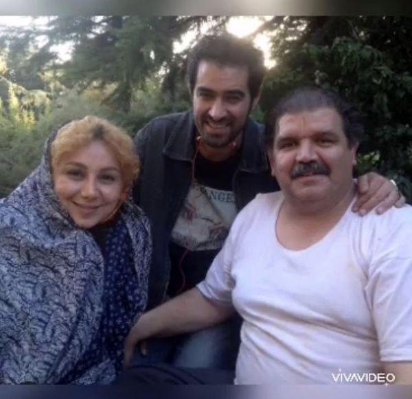بهنوش بختیاری با چادر درکنار شهاب حسینی + عکس
