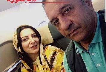 سفر تابستانی بازیگر بوی باران و همسرش+عکس