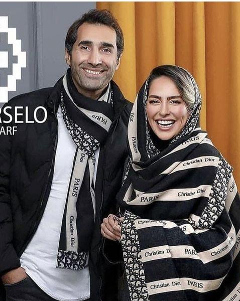 هادی کاظمی و سمانه پاکدل زوجی که مدل شدند + عکس