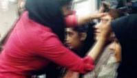 گزارشی از آرایش بی دردسر زنان در مترو