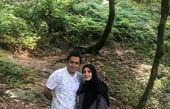 مسافرت زوج خبری معروف +عکس