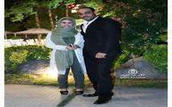 تیپ مهمانی امیریل ارجمند و همسرش+عکس