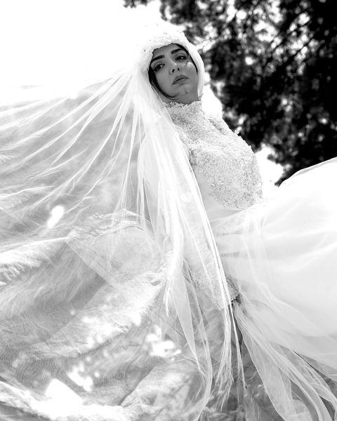 المیرا دهقانی با لباس عروس+عکس