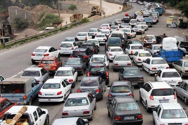 ترافیک در محورهای منتهی به مرزها کنترل شده است