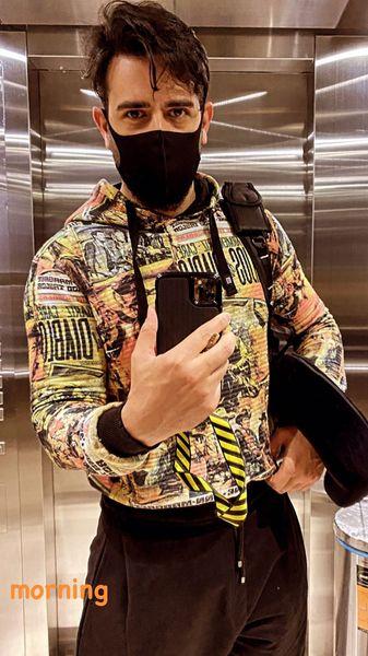 امیرحسین آرمان در آسانسور + عکس