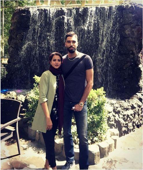 عکس سید محمد موسوی و خواهرش در گردش